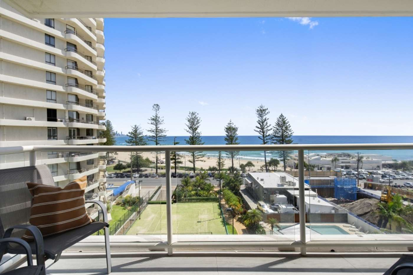 Fifth view of Homely apartment listing, 6E/52 Goodwin Terrace, Burleigh Heads QLD 4220