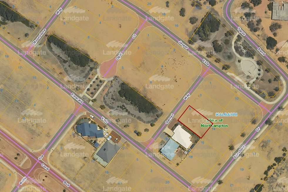 Second view of Homely residentialLand listing, 5 Garnet Way, Kalbarri WA 6536