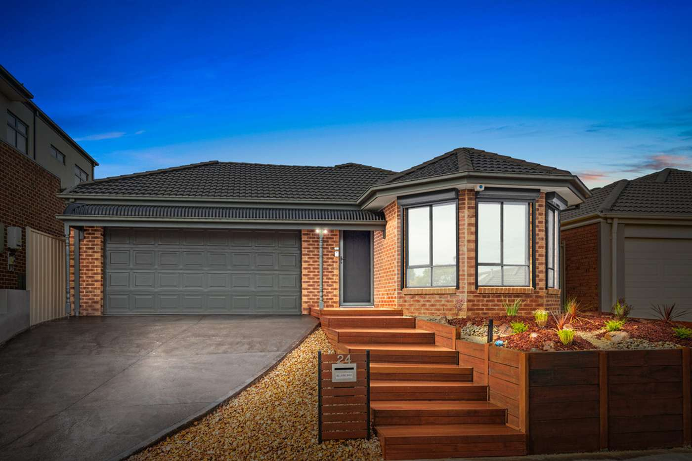 Main view of Homely house listing, 24 Hascombe Drive, Caroline Springs VIC 3023