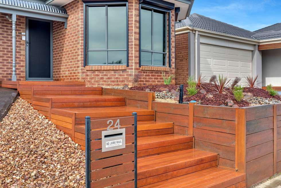 Second view of Homely house listing, 24 Hascombe Drive, Caroline Springs VIC 3023