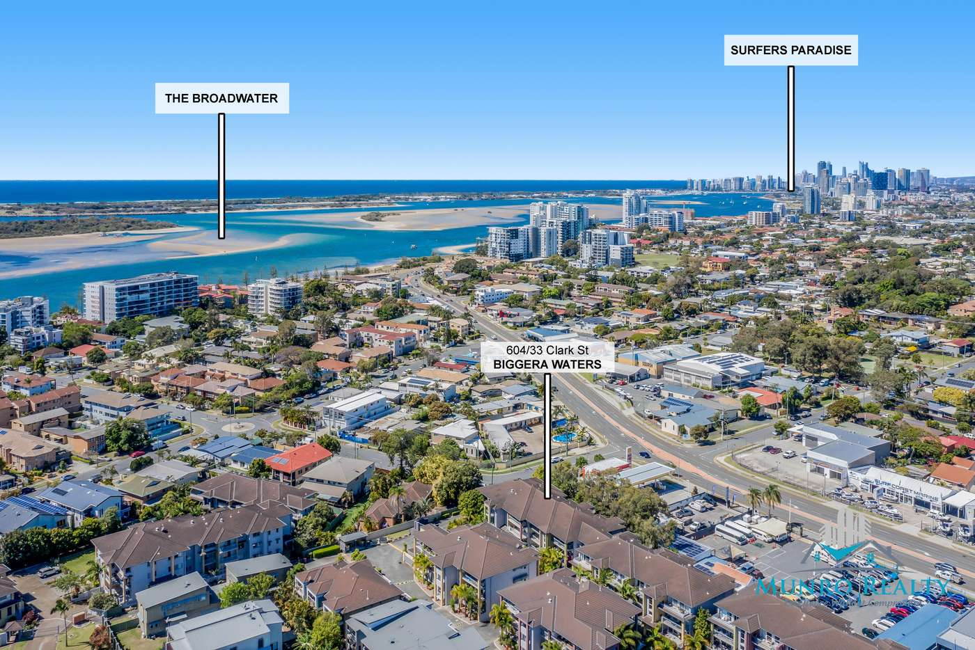 Main view of Homely unit listing, 604/33 Clark Street, Biggera Waters QLD 4216