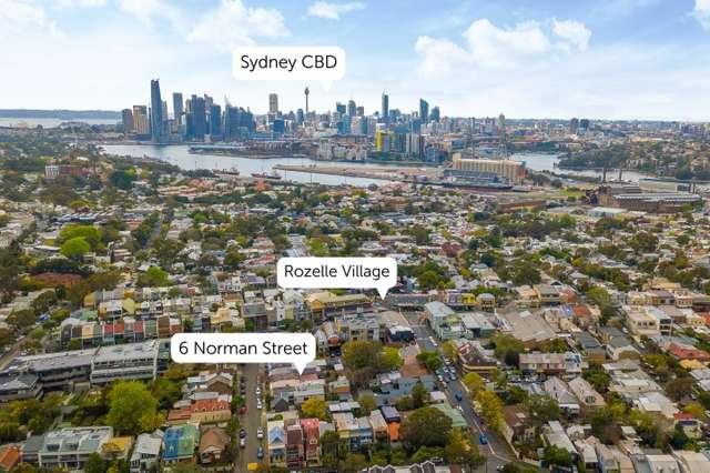 6 Norman Street, Rozelle NSW 2039