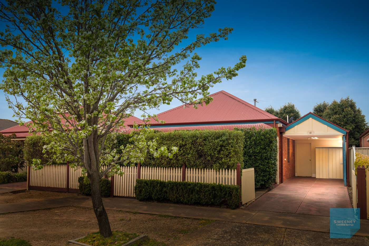 Main view of Homely house listing, 61 Northampton Crescent, Caroline Springs VIC 3023
