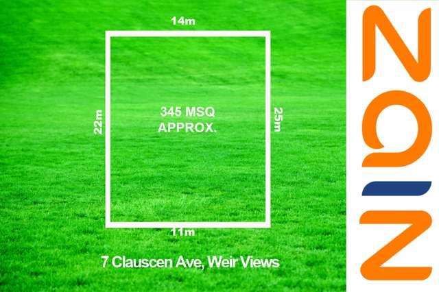 7 Clauscen Avenue, Weir Views VIC 3338