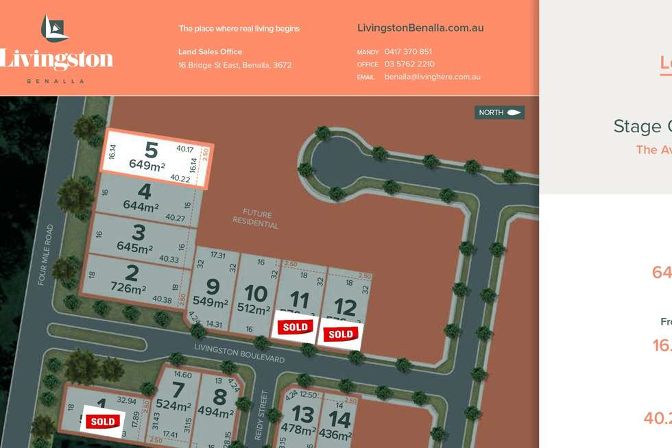 Second view of Homely residentialLand listing, Lot 5 / 32 Four Mile Road, Benalla VIC 3672