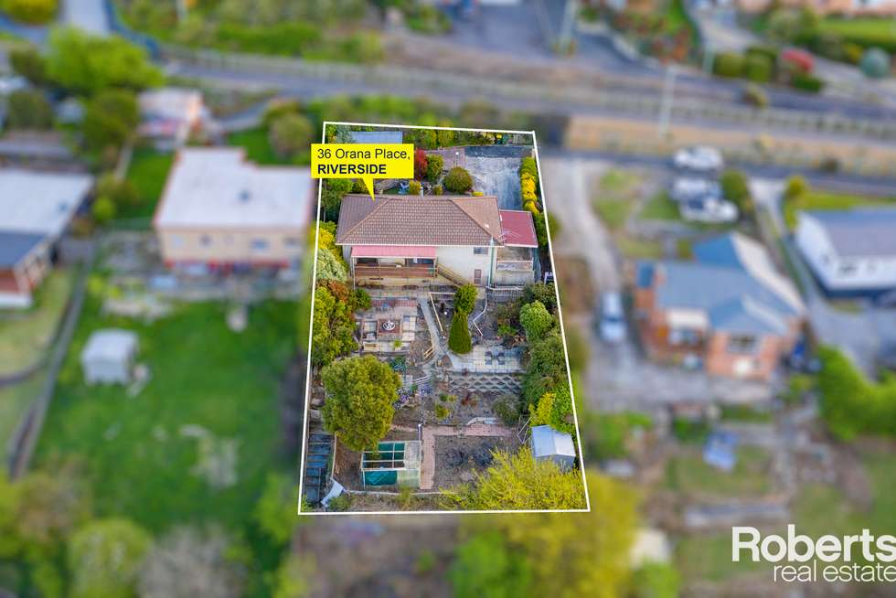 Second view of Homely house listing, 36 Orana Street, Riverside TAS 7250