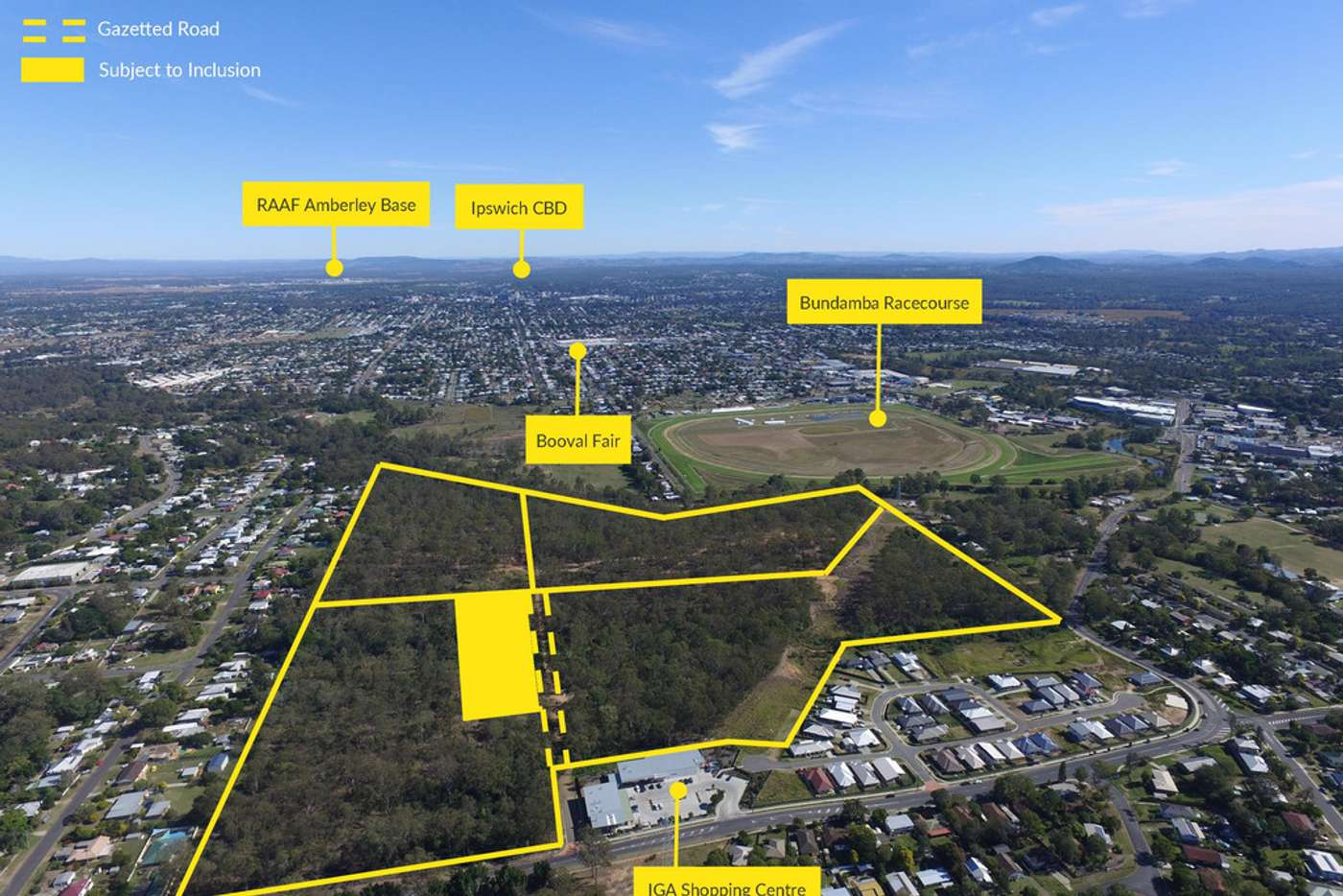 Main view of Homely residentialLand listing, 71 Naomai & 54 Emma Street, Blackstone QLD 4304