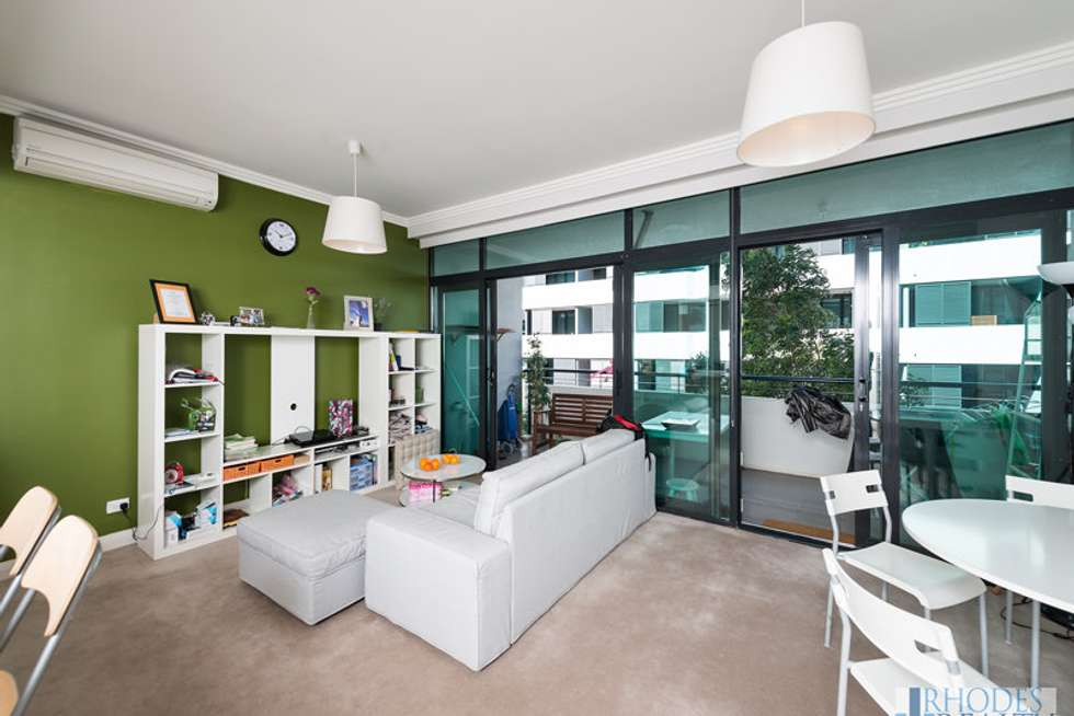 Second view of Homely apartment listing, 17/1 Timbrol Avenue, Rhodes NSW 2138