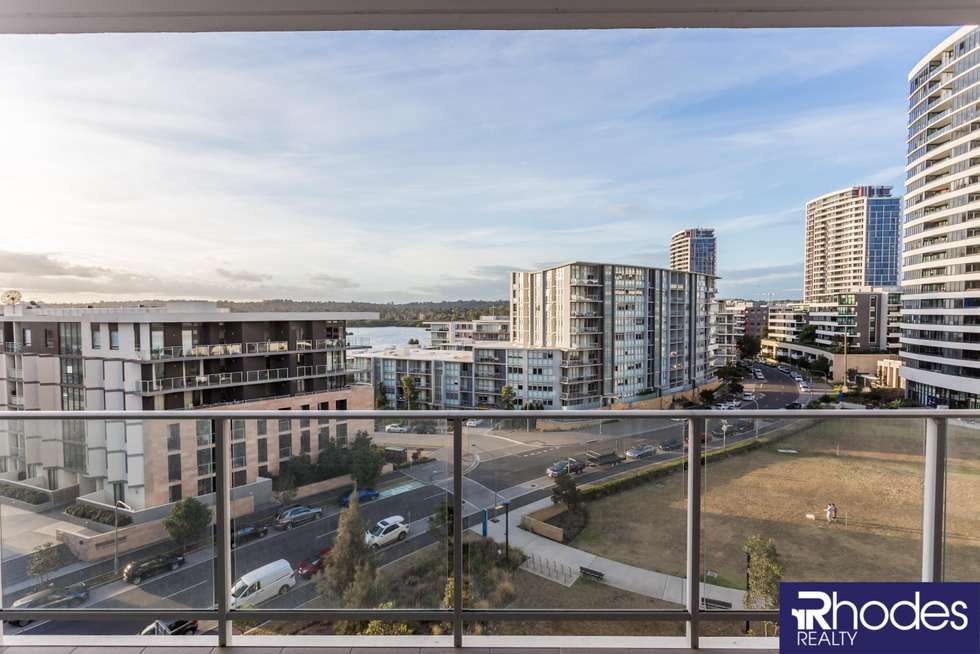 Third view of Homely apartment listing, 604/43 Shoreline Drive, Rhodes NSW 2138