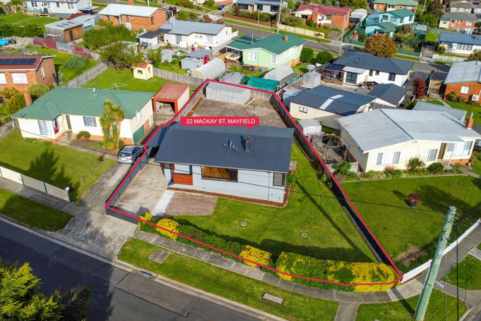 Second view of Homely house listing, 22 Mackay Street, Mayfield TAS 7248