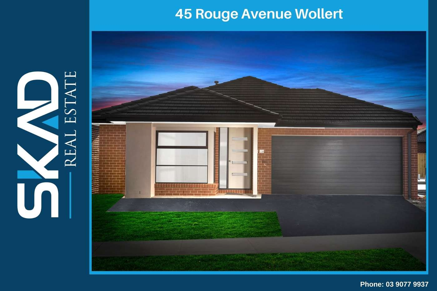Main view of Homely house listing, 45 Rouge Avenue, Wollert VIC 3750