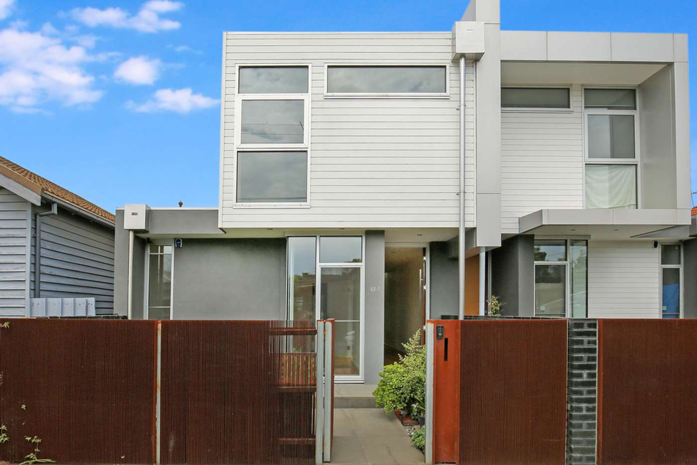 Main view of Homely townhouse listing, 168A Stewart Street, Brunswick East VIC 3057