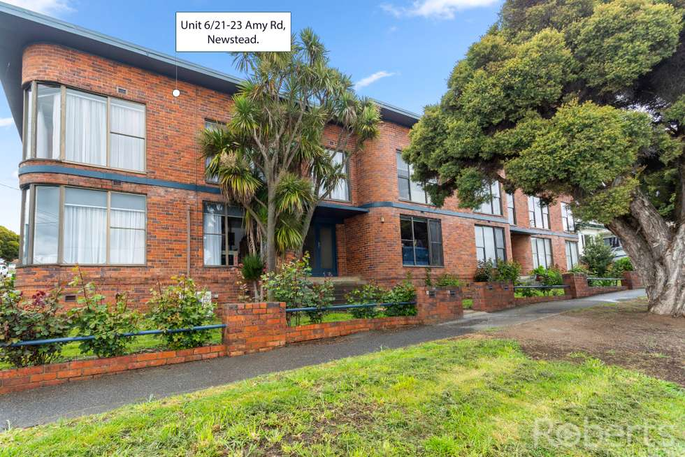 Second view of Homely unit listing, 6/21-23 Amy Road, Newstead TAS 7250