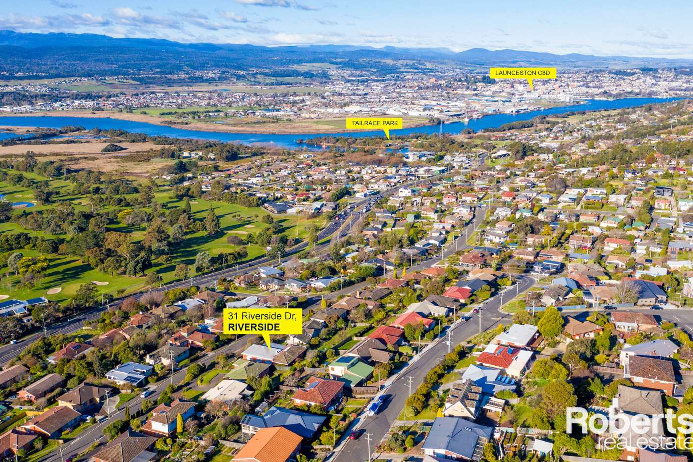 Main view of Homely house listing, 31 Riverside Drive, Riverside TAS 7250