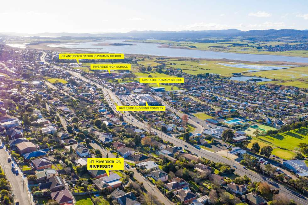 Second view of Homely house listing, 31 Riverside Drive, Riverside TAS 7250
