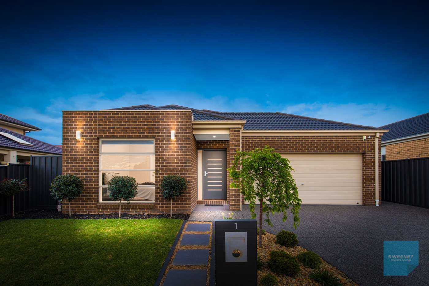 Main view of Homely house listing, 1 Briar Valley Rise, Caroline Springs VIC 3023