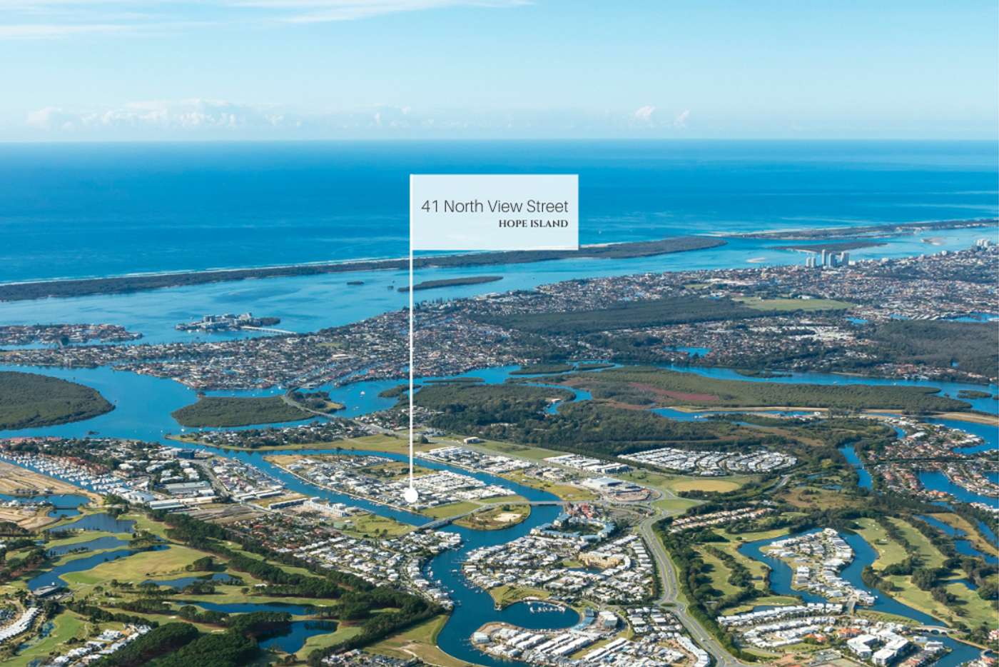 Main view of Homely residentialLand listing, 41 North View Street, Hope Island QLD 4212