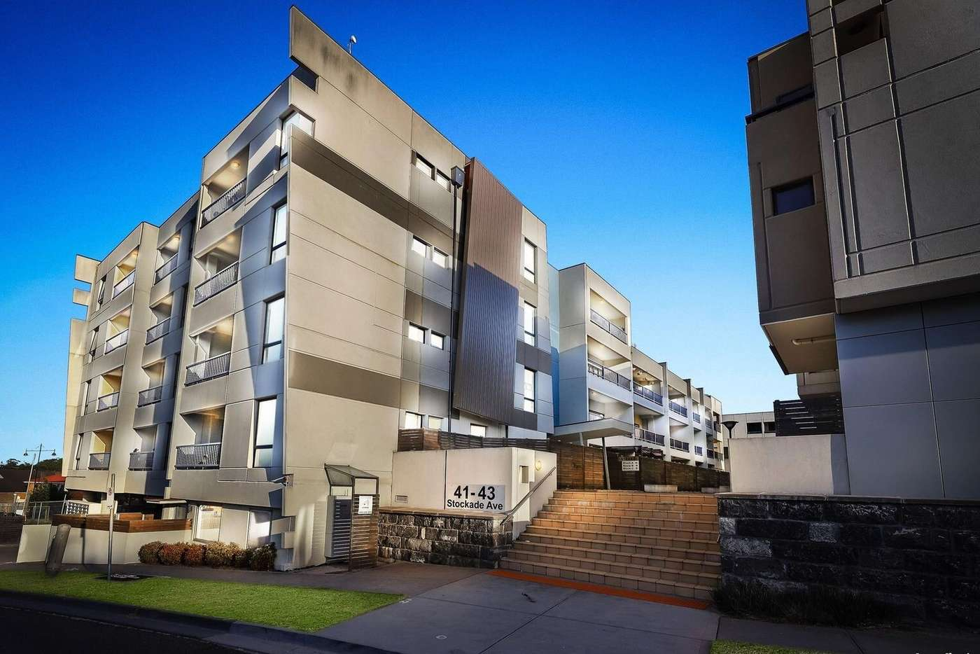 Main view of Homely apartment listing, 208A/41 Stockade Avenue, Coburg VIC 3058