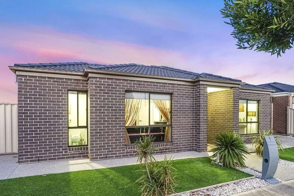 Second view of Homely house listing, 1 Mala Street, Truganina VIC 3029