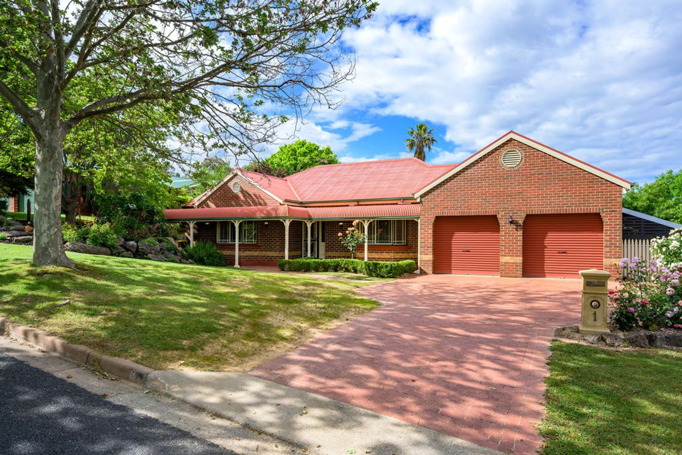 Main view of Homely house listing, 1 Dominic Drive, Wodonga VIC 3690