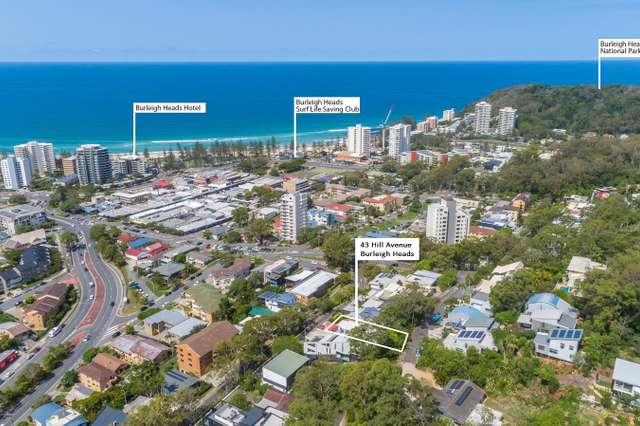 43 Hill Avenue, Burleigh Heads QLD 4220