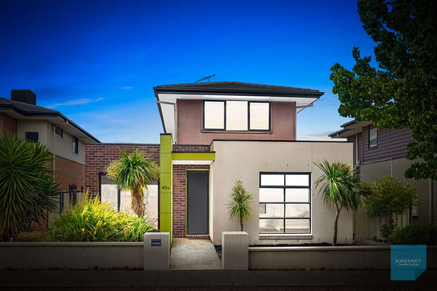 Main view of Homely townhouse listing, 45B The Avenue, Caroline Springs VIC 3023