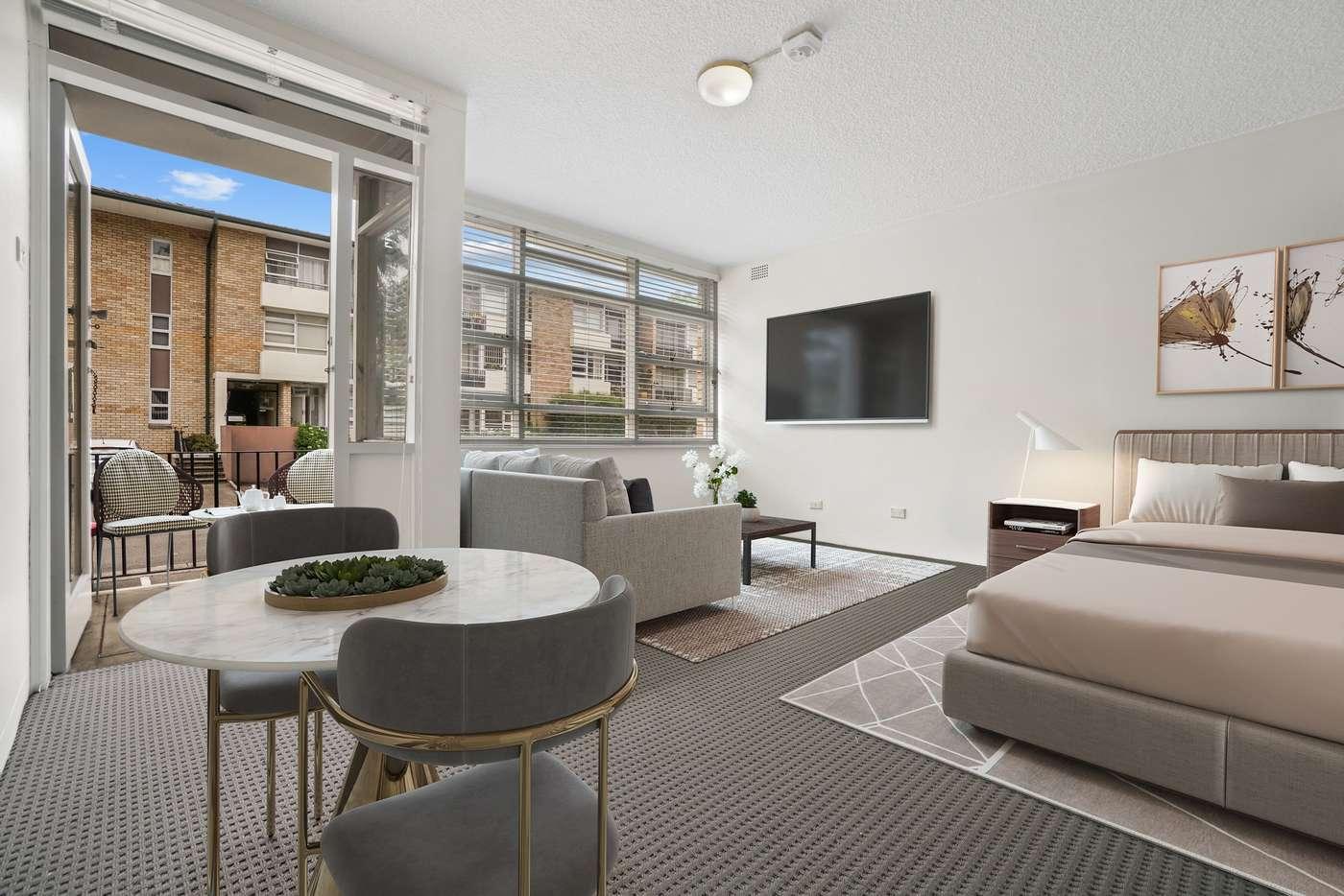 Main view of Homely studio listing, 23/8 Brunswick, Ashfield NSW 2131