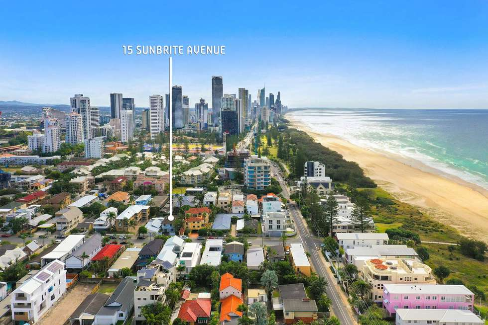 Second view of Homely house listing, 15 Sunbrite Ave, Mermaid Beach QLD 4218
