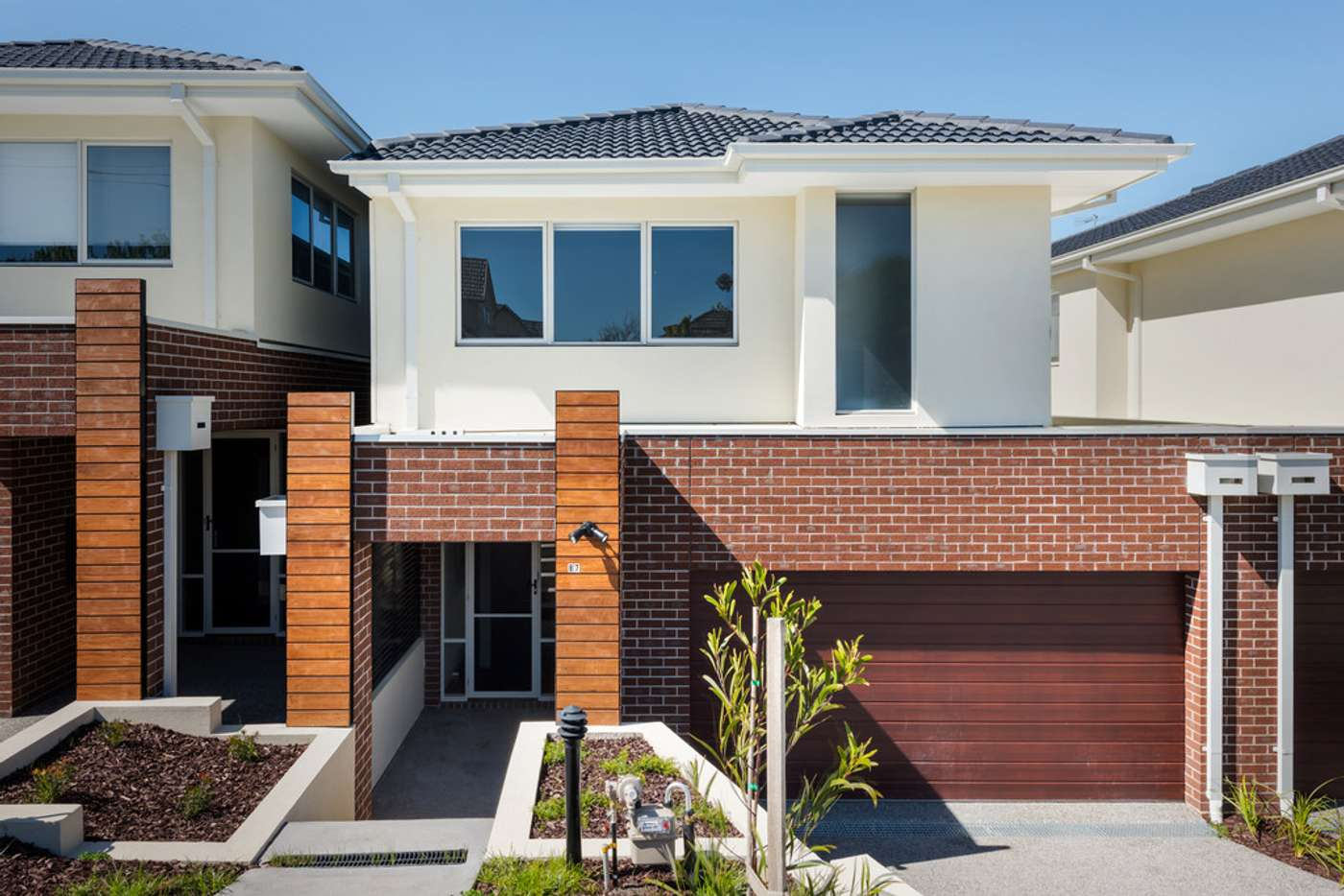 Main view of Homely townhouse listing, 87 Leeds Street, Doncaster East VIC 3109