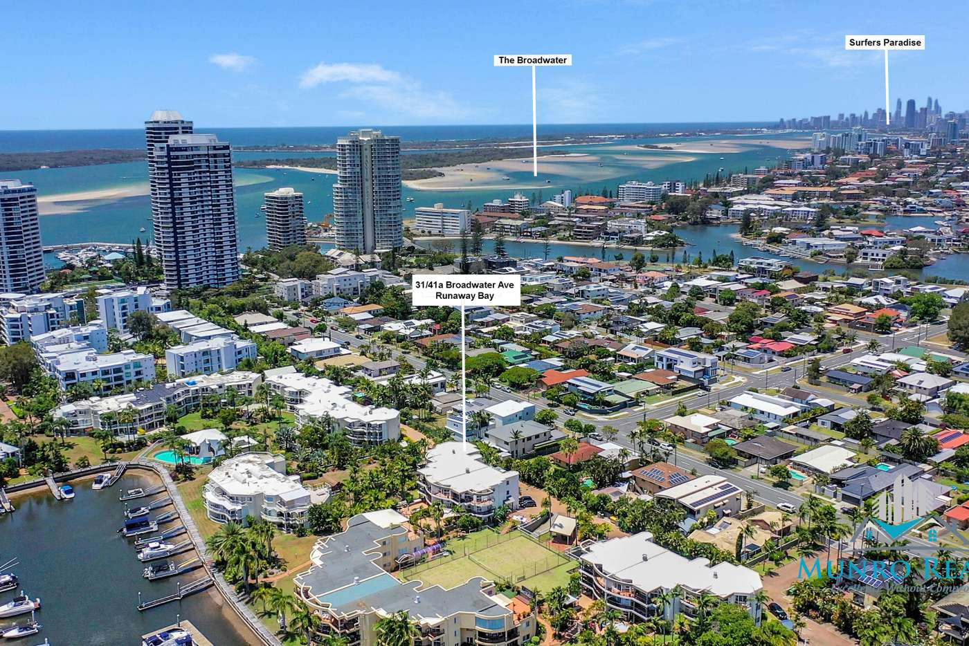 Main view of Homely unit listing, 31/41A Broadwater Street, Runaway Bay QLD 4216