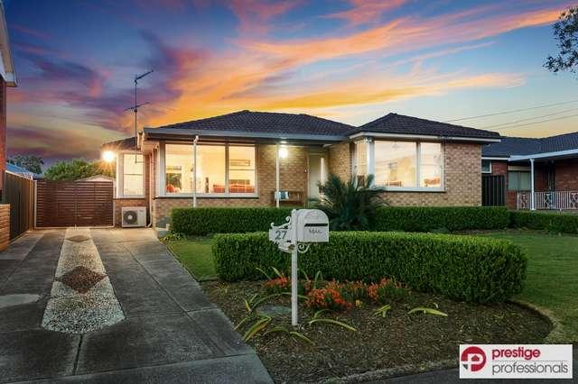 27 Sligar Avenue, Hammondville NSW 2170