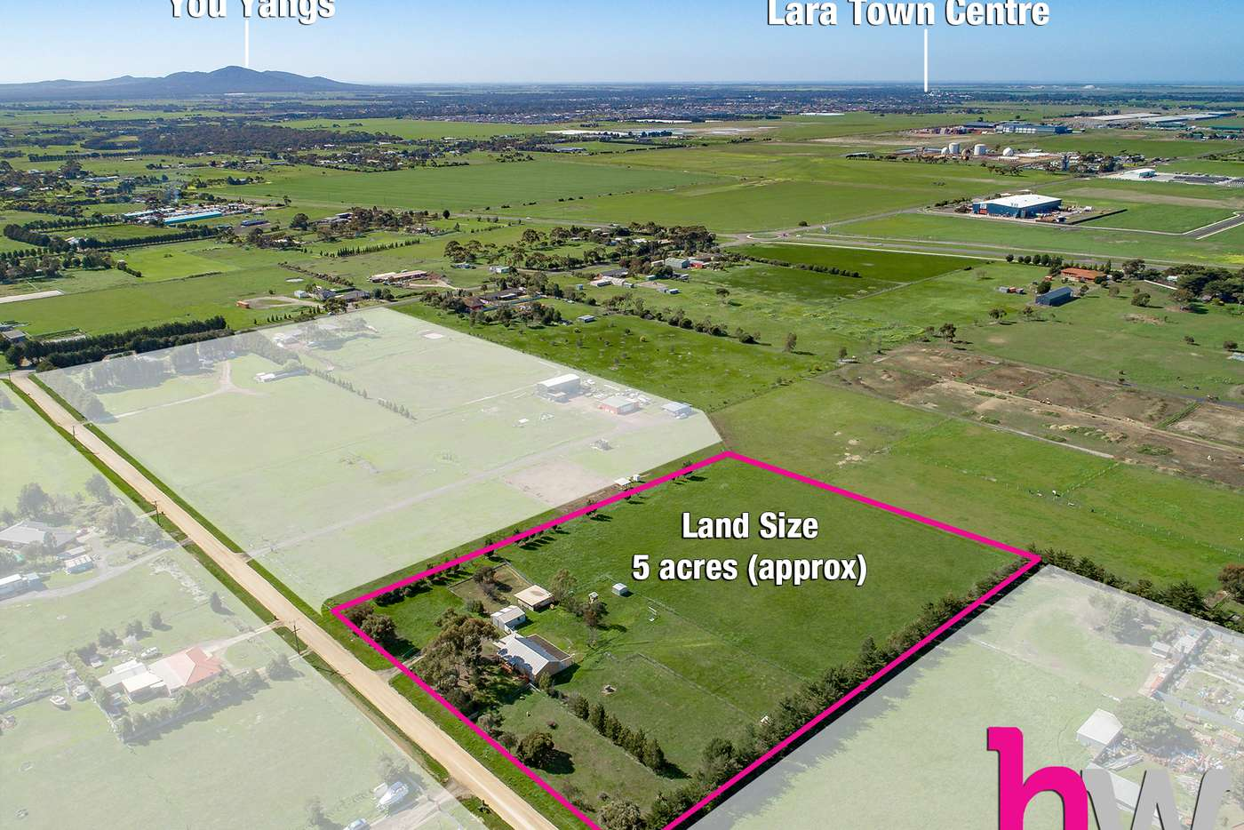 Main view of Homely acreageSemiRural listing, 110 Tillys Road, Lara VIC 3212