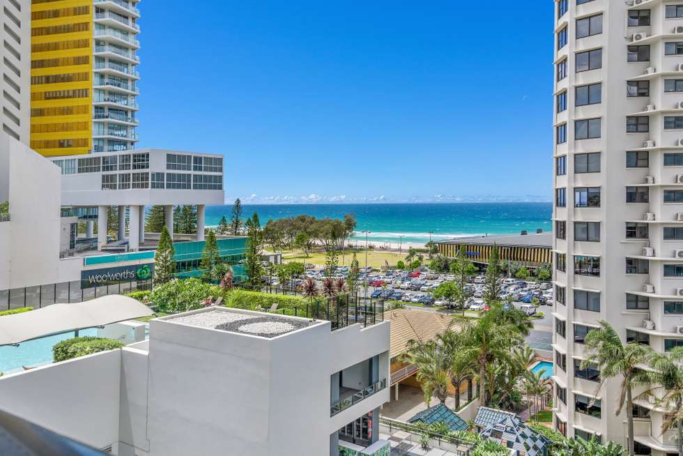 Second view of Homely apartment listing, 606/1 'Peppers Broadbeach' Oracle Boulevard, Broadbeach QLD 4218