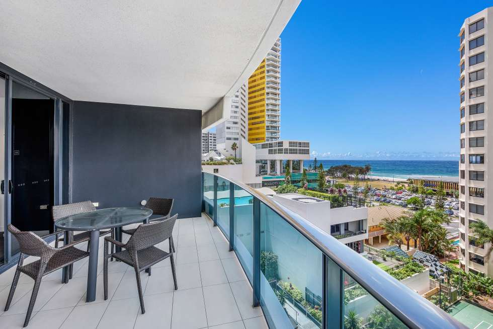 Third view of Homely apartment listing, 606/1 'Peppers Broadbeach' Oracle Boulevard, Broadbeach QLD 4218