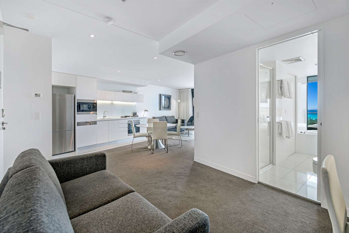 Sixth view of Homely apartment listing, 606/1 'Peppers Broadbeach' Oracle Boulevard, Broadbeach QLD 4218