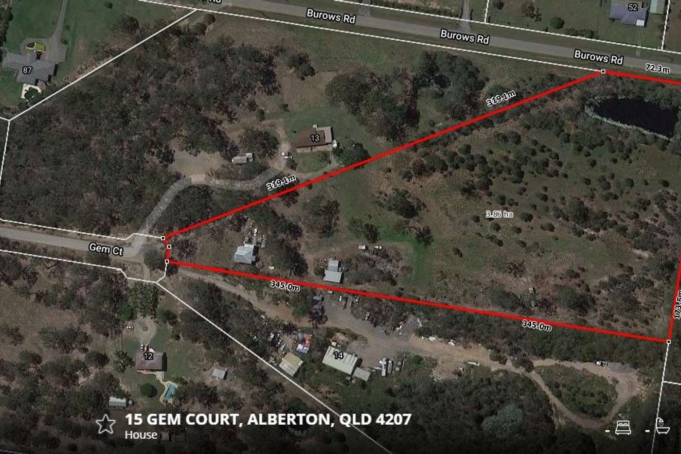 Main view of Homely residentialLand listing, 15 Gem Court, Alberton QLD 4207