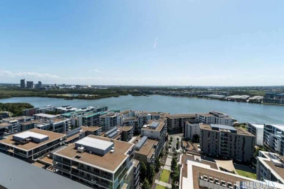 Second view of Homely apartment listing, 1708/7 Rider Boulevard, Rhodes NSW 2138