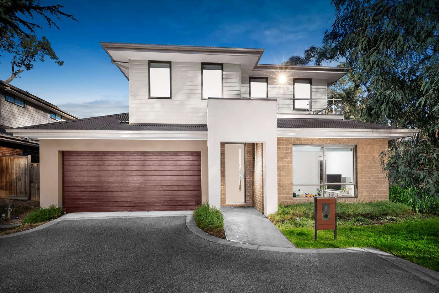 Main view of Homely townhouse listing, 9 Rindlebrook Place, Wonga Park VIC 3115