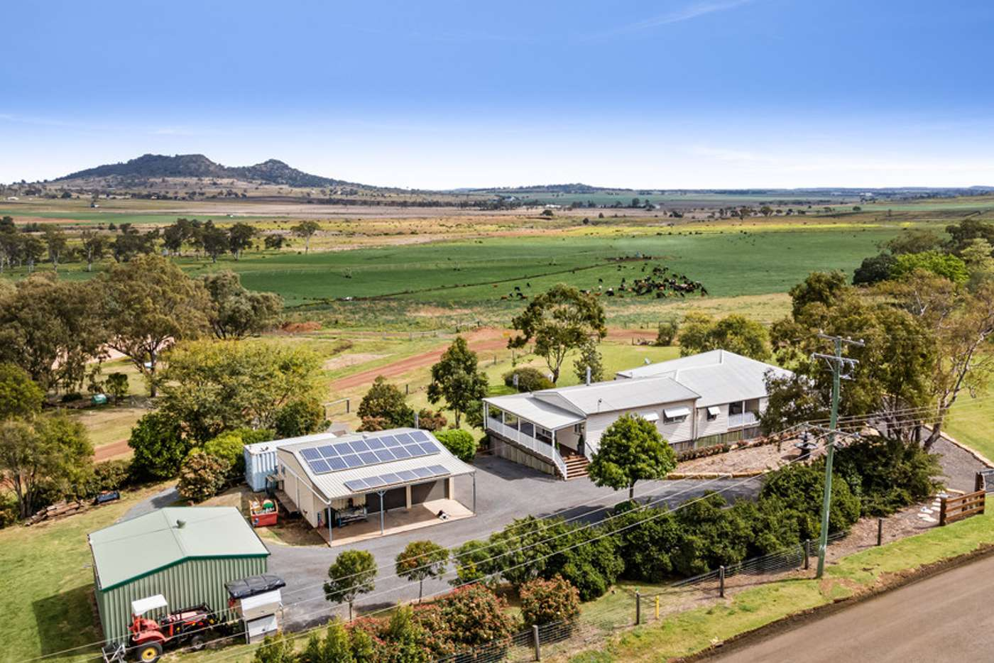 Main view of Homely acreageSemiRural listing, 217 Gowrie Tilgonda Road, Gowrie Junction QLD 4352
