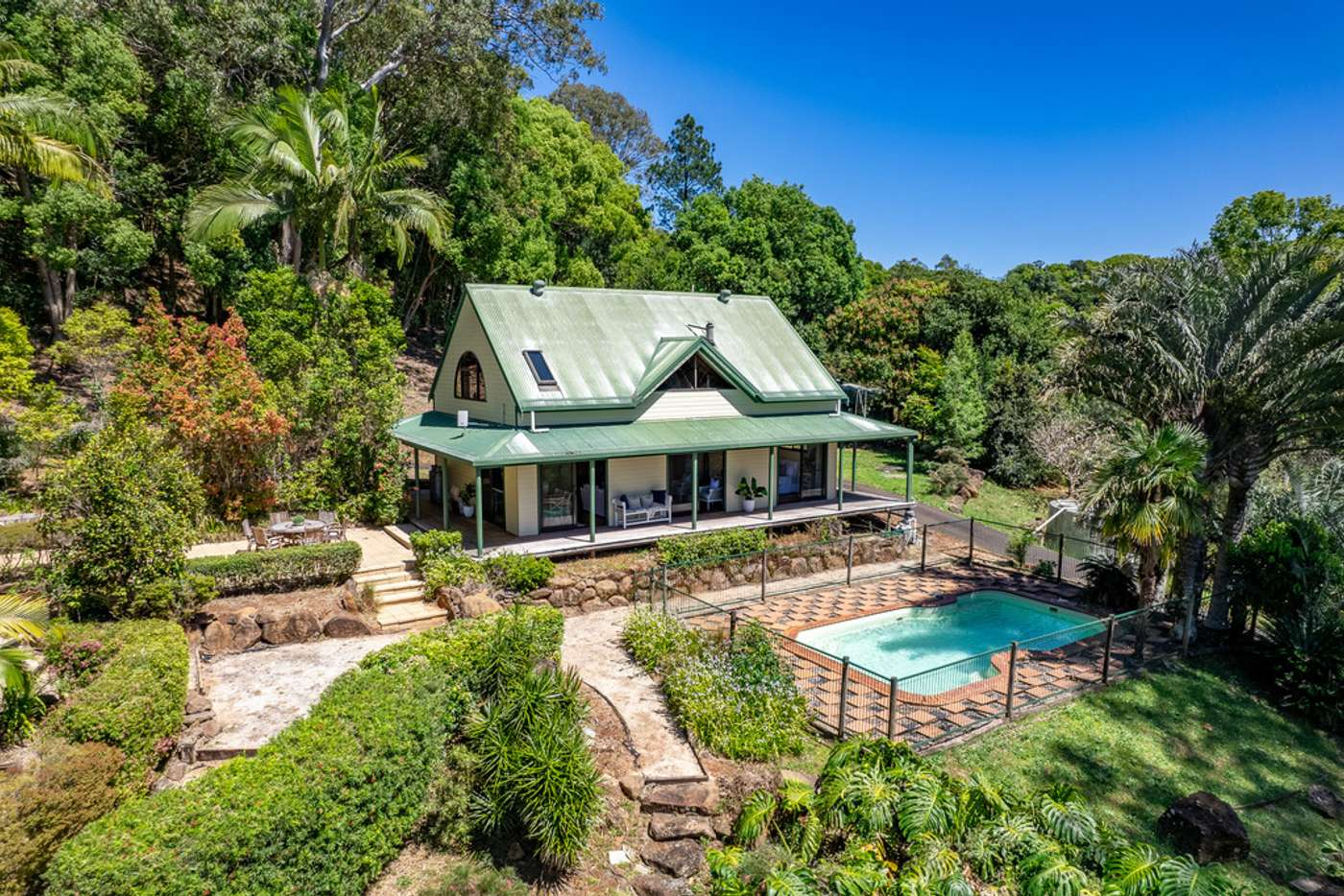 Main view of Homely acreageSemiRural listing, 114 Hunters Hill Road, Corndale NSW 2480