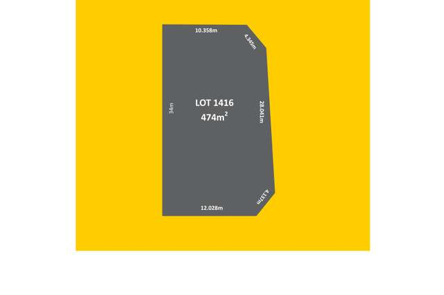 Lot 1416 Canister Rise, Alkimos WA 6038