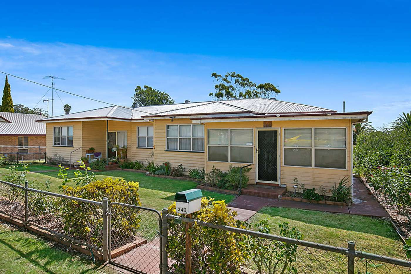 Main view of Homely semiDetached listing, 343 Hume Street, South Toowoomba QLD 4350