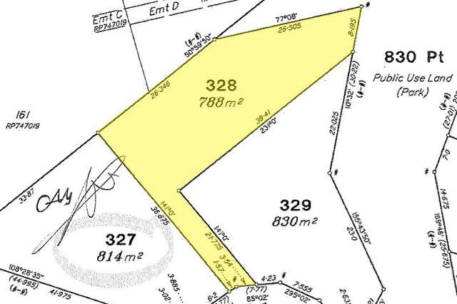 LOT lOT 329 & 328/6 & 8 stage 6, Tarwhine Close, kanimbla QLD 4870