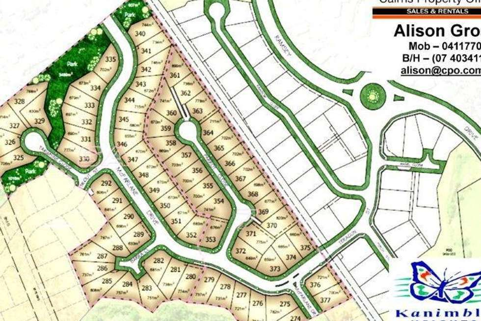 Second view of Homely residentialLand listing, LOT lOT 329 & 328/6 & 8 stage 6, Tarwhine Close, kanimbla QLD 4870