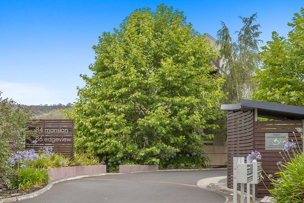 Second view of Homely apartment listing, 8/84 Upper Fitzroy Crescent, South Hobart TAS 7004