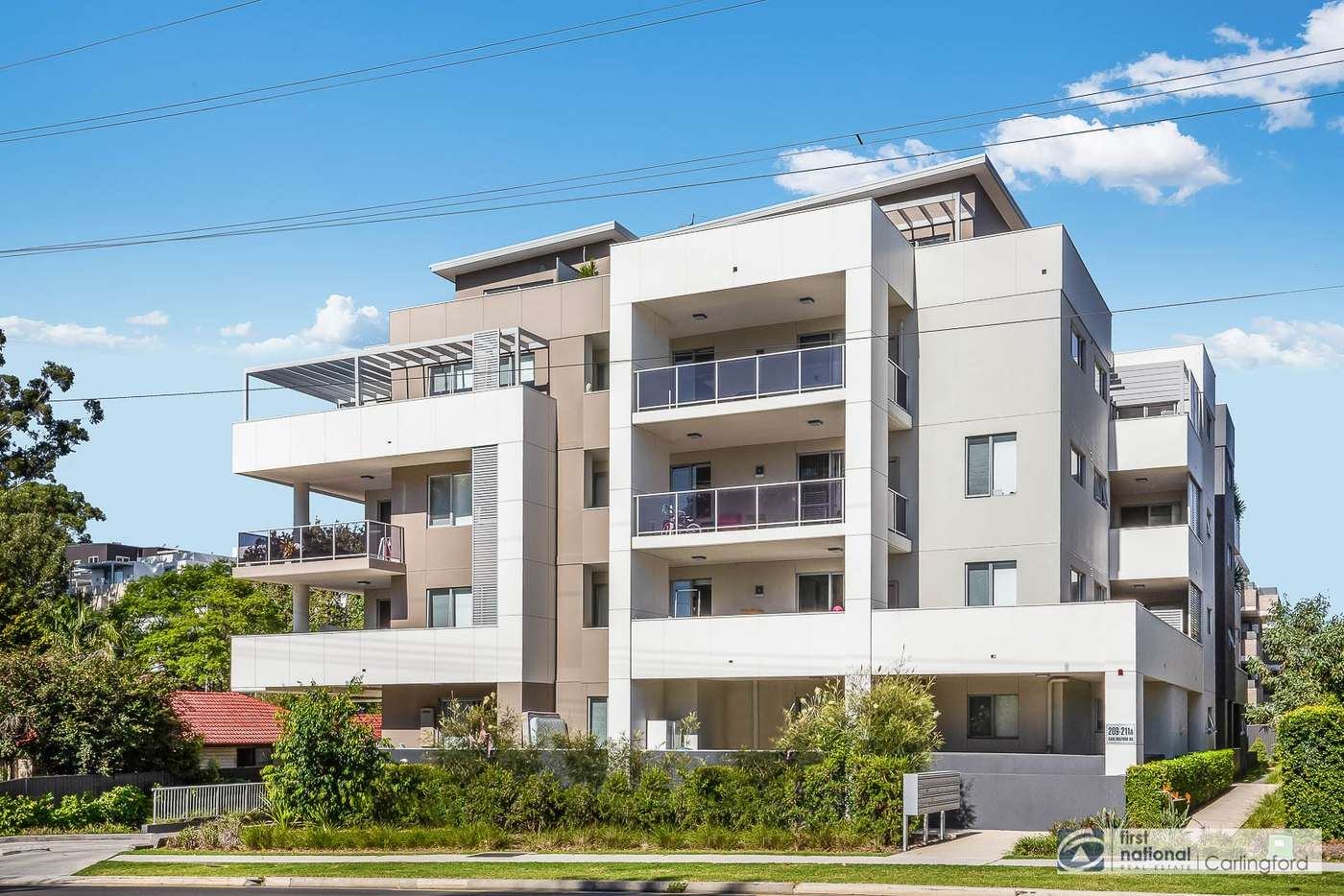 Main view of Homely apartment listing, 9/209-211 Carlingford Road, Carlingford NSW 2118