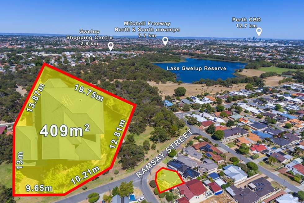 Second view of Homely house listing, 23A Ramsay Street, Karrinyup WA 6018