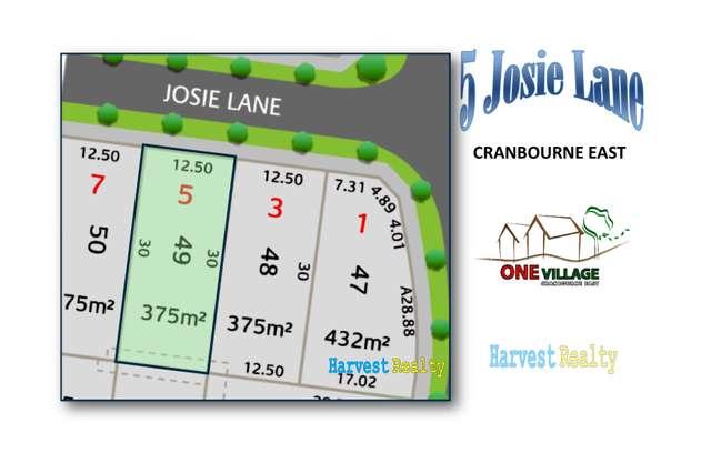 5 Josie Lane, Cranbourne East VIC 3977