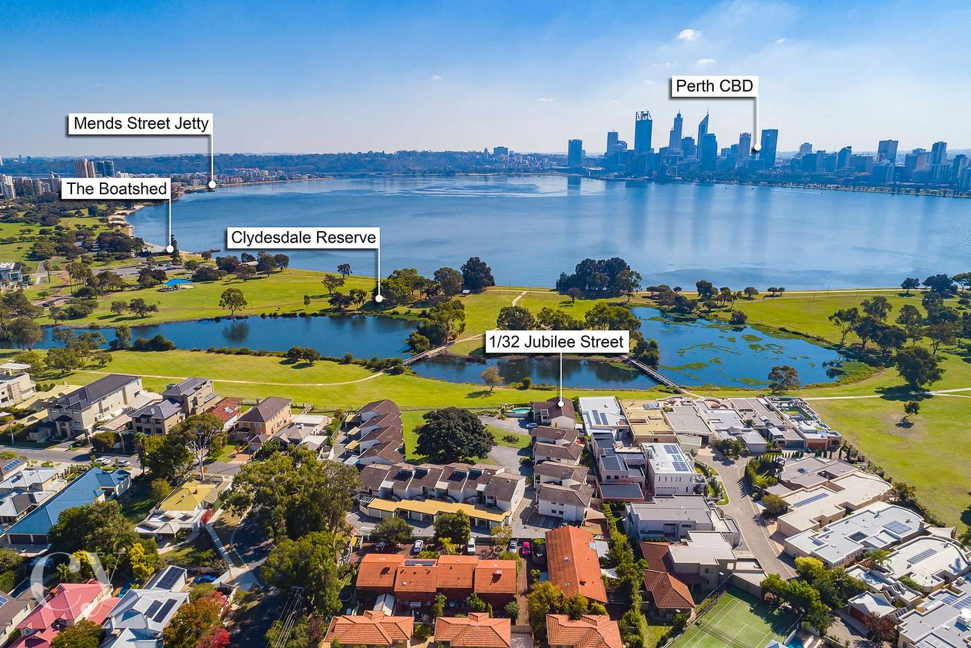 Main view of Homely unit listing, 1/32 Jubilee Street, South Perth WA 6151