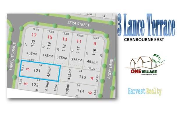 LOT 121/3 Lance Terrace, Cranbourne East VIC 3977